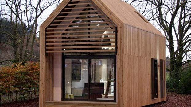 Case Piccole In Legno : Piccole casette in legno abitabili da poter costruire nel proprio