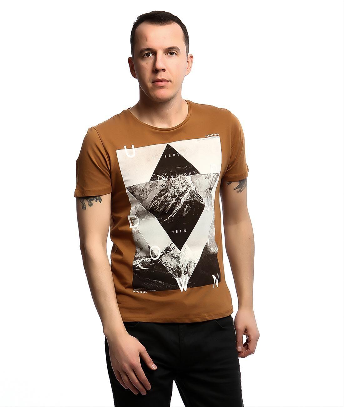 Collezione T Shirt Kisa Kol Hardal Giyim Hardal Kis