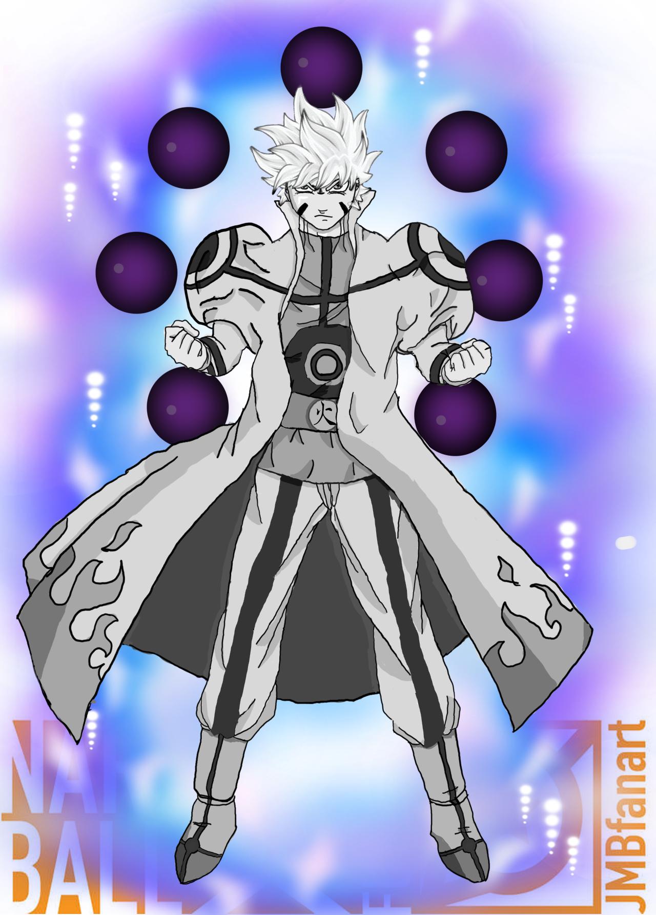 Goruto Mui Six Paths Sage Mode Complete Kcm By Rebirtharts On Deviantart Dragon Ball Artwork Anime Crossover Dragon Ball Super Goku
