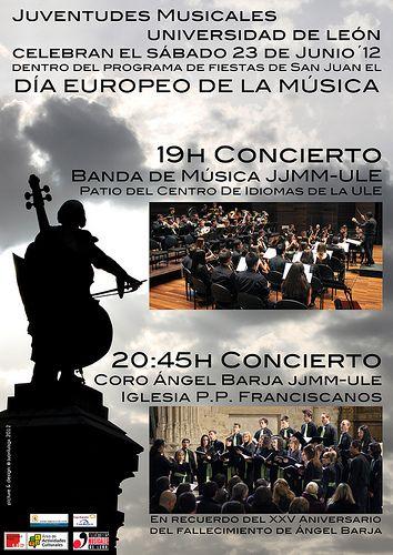 JUVENTUDES MUSICALES DE LEÓN (Spain) http://www.puntocoma.org/2012/06/juventudes-musicales-universidad-de.html