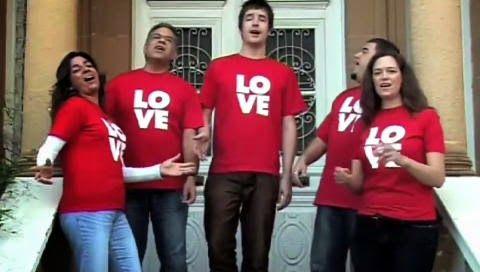Cantaram All You Need Is Love em 156 países diferentes ao mesmo tempo - Curtir Espetacular