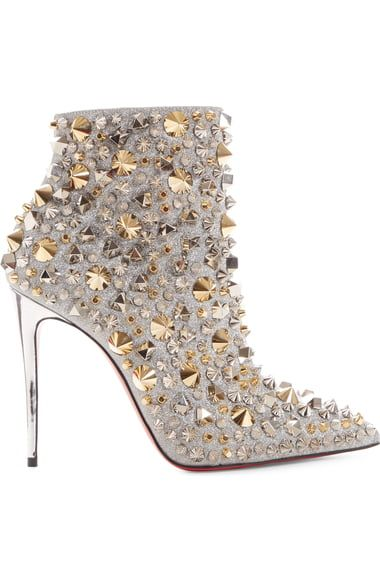 Photo of Christian Louboutin So Kate Studded Glitter Bootie (Women) | Nordstrom – Shoes
