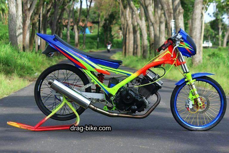 Gambar Modifikasi Satria Fu Thailand 50 Foto Gambar Modifikasi Satria Fu Thailook Terbaik Terkeren Air Brush Kontes Drag Bike Com Drag Racing Toyota Supra Honda Cb