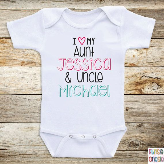 Personalized baby clothes i love my aunt and by newbornbabyclothes personalized baby clothes i love my aunt and by newbornbabyclothes negle Choice Image