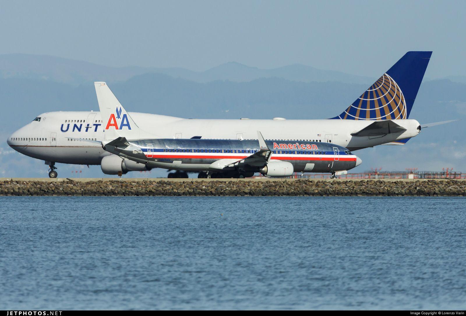 Boeing 737823 N865NN 29554 San Francisco Int'l Airport