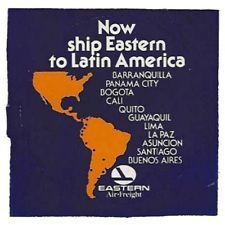 Eastern Airlines Label