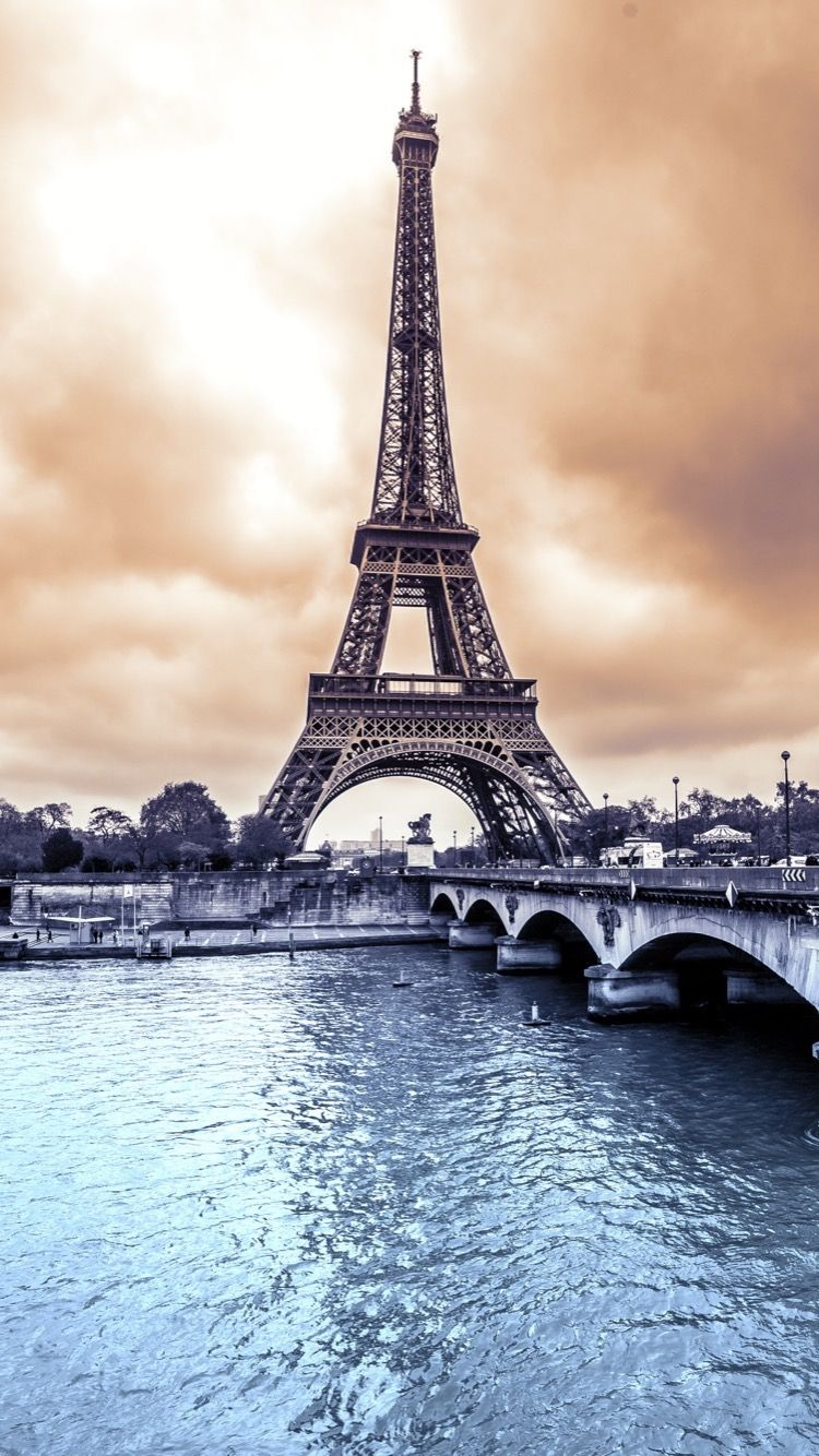 TAP AND GET FREE APP ⬆️ Eiffel Tower background for iPhone