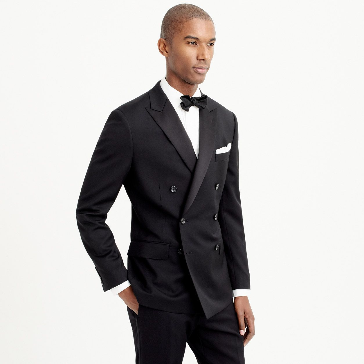 545a5b6740d Ludlow double-breasted tuxedo jacket in Italian wool   suits
