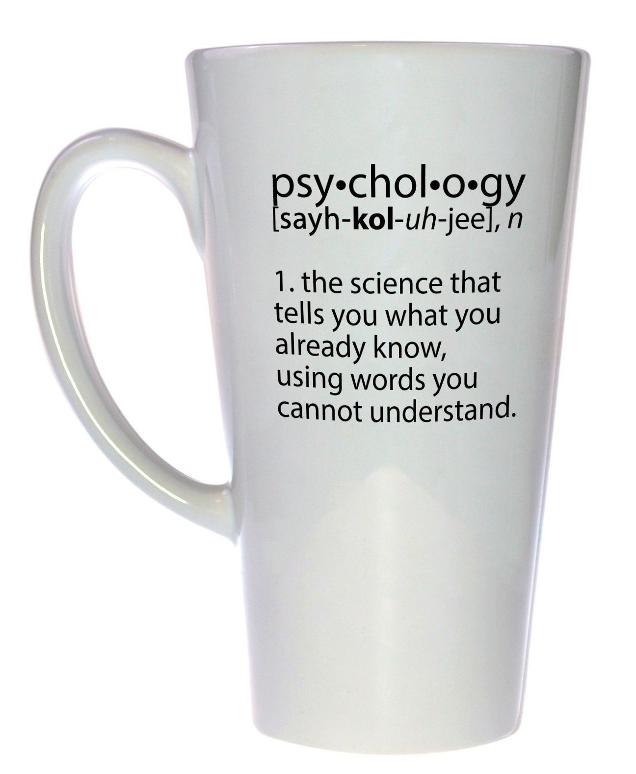 psychology definition coffee or tea mug latte size coffee nerds