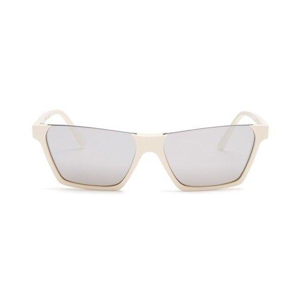 Rectangular-frame acetate sunglasses Celine 0GE3hSf