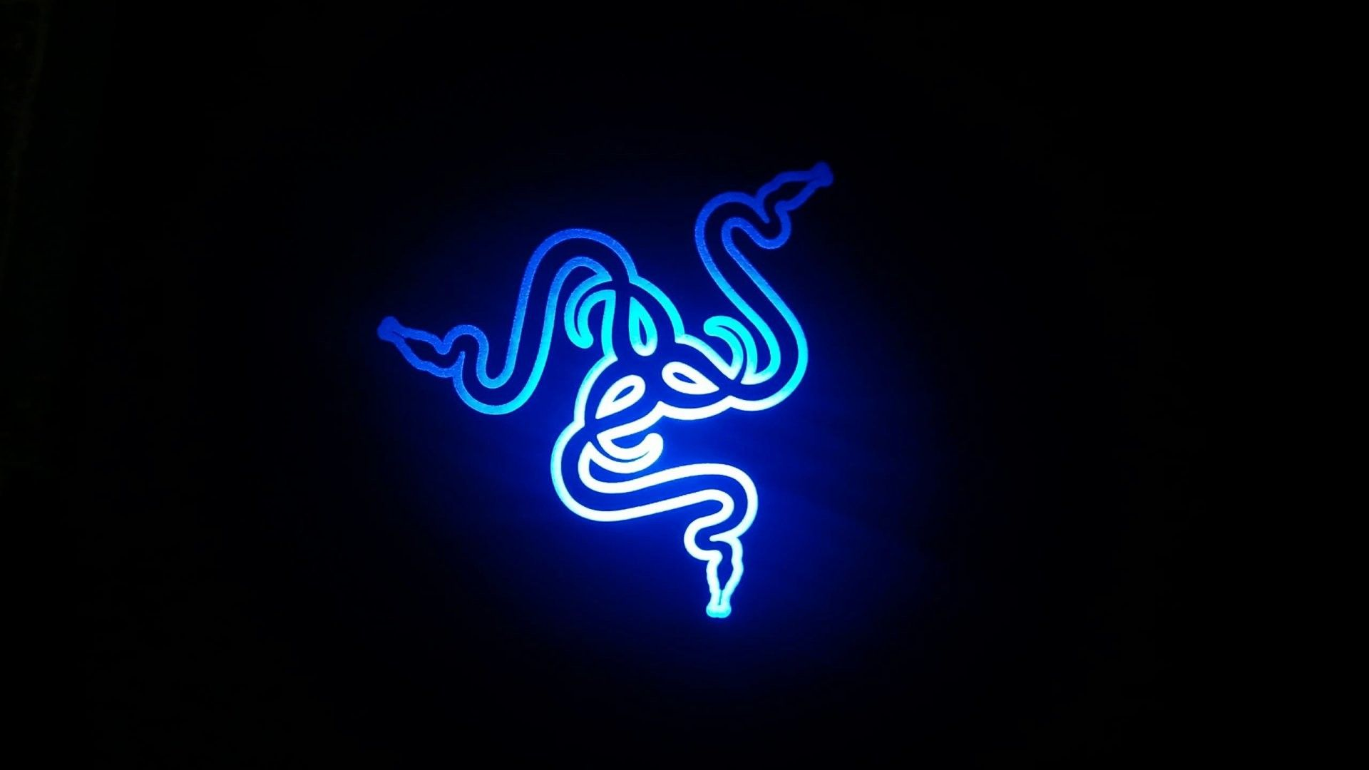 Res 1920x1080 Razer Neon Blue Wallpapers Gaming Wallpapers Black Phone Wallpaper Desktop Wallpaper