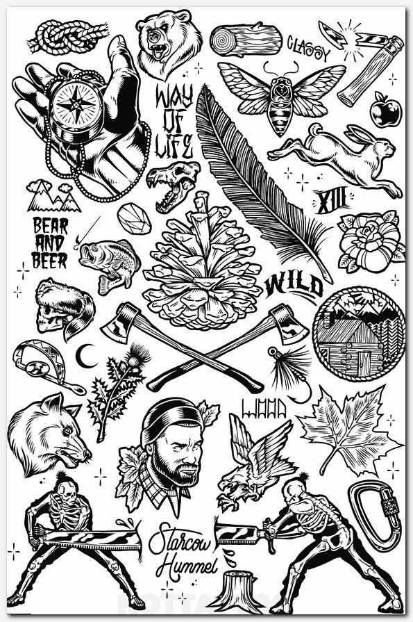 Art Ink Hot Tattoo Black And Grey Tattoos Flash Tattoo Traditional Tattoo