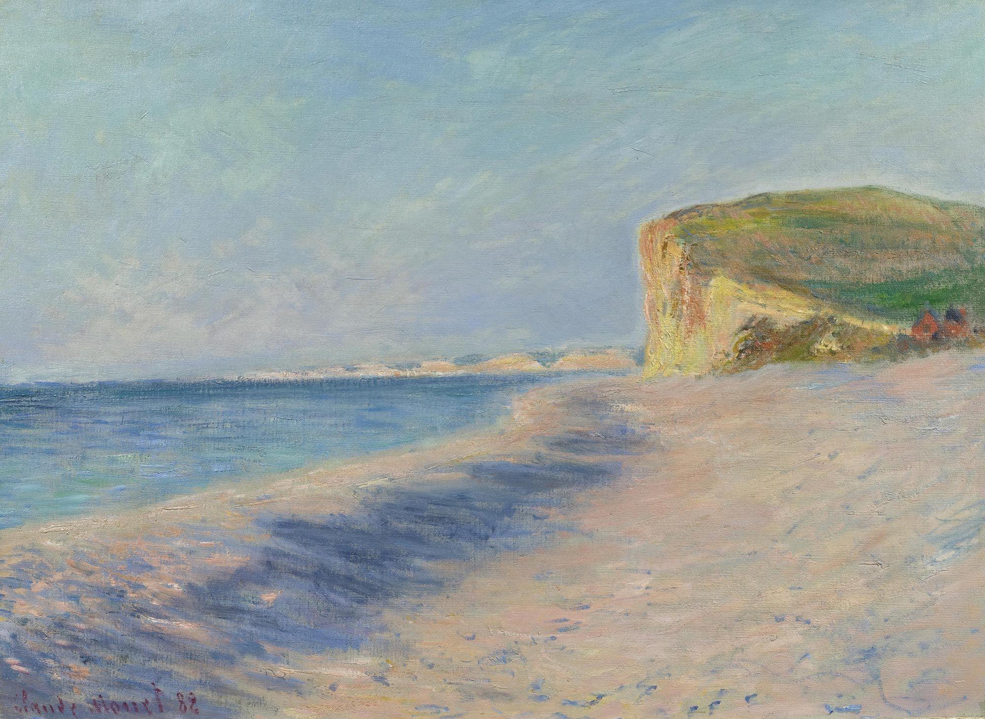 CLAUDE MONET Pourville près Dieppe. 1882. | Monet art, Claude monet art,  Monet oil paintings