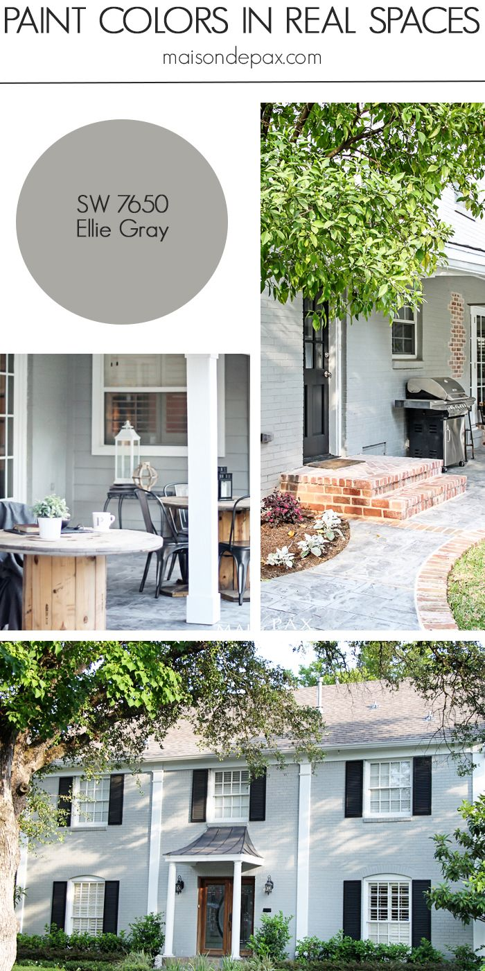 Ellie Gray (SW 7650) By Sherwin Williams: See Paint Colors In Real Spaces