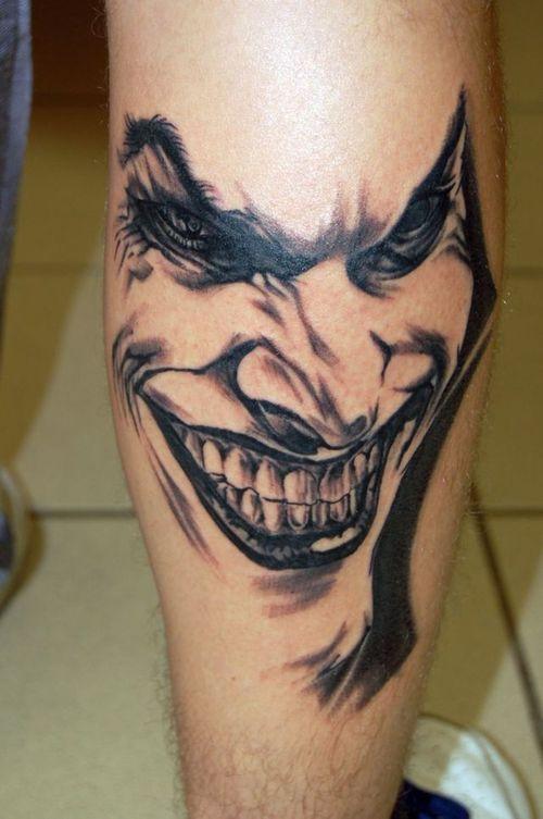 Joker Tattoos Design One Off Cool Clown Tattoo Tattoos Tattoos