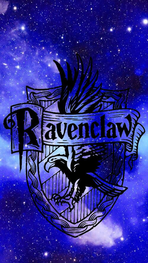 Ravenclaw Phone Background Wallpaper Has Ravenclaw Symbol With Space Background Harry Potter Wallpaper Harry Potter Background Harry Potter Pictures
