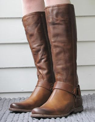 Frye Phillip Tall Harness Boots Shoes Tall Boots