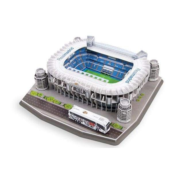 3d Puzzles Top Stadiums In 2021 Santiago Bernabéu Stadium Real Madrid Stadium