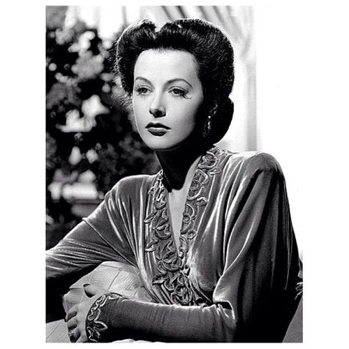 Hedy Lamarr photographed in 1942.