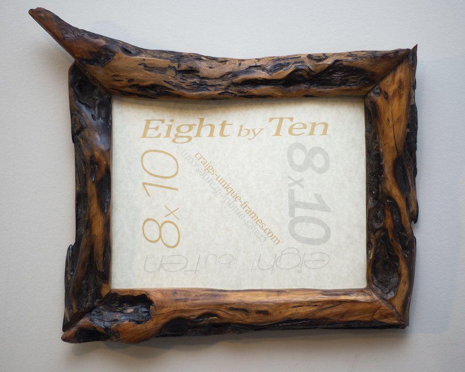 8x10 Wood Frame 8x10 Wooden Frame Unique Wood Frame Rustic Wooden