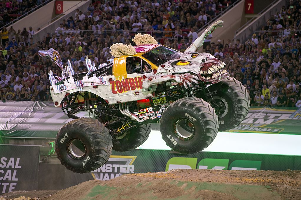 Zombie Monster Jam With Images Monster Truck Jam Monster Trucks Monster Jam