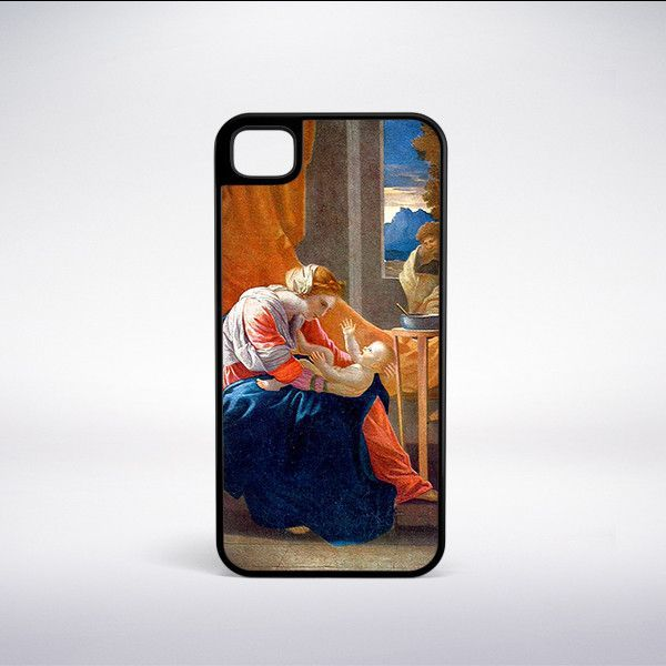 Nicolas Poussin - Apollo And Daphne Phone Case