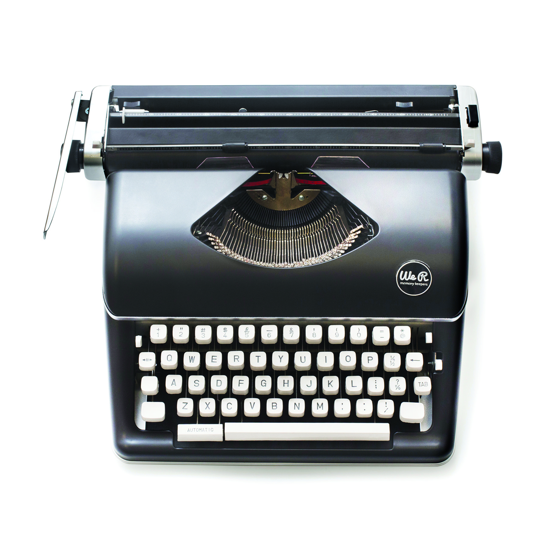 Shop for the We R Memory Keepers® Typecast Typewriter, Black at Michaels