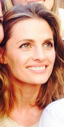 Stana Katic in Italy filming The Tourist