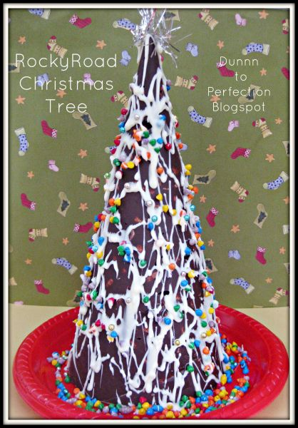 The-Organised-Housewife-Rocky-Road-Christmas-Tree - The-Organised-Housewife-Rocky-Road-Christmas-Tree Deliciousness
