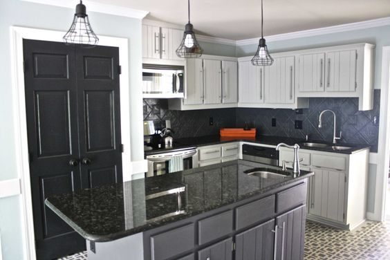 Our Budget Kitchen Remodel REVEAL ~ Part 1 Budget kitchen remodel