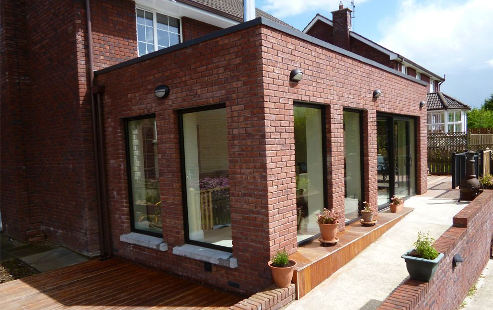 Red Brick Extension Staran Architects Nasz D O M