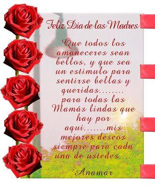Anamar Invitaciones Imagen Dia De Las Madres Feliz Dia