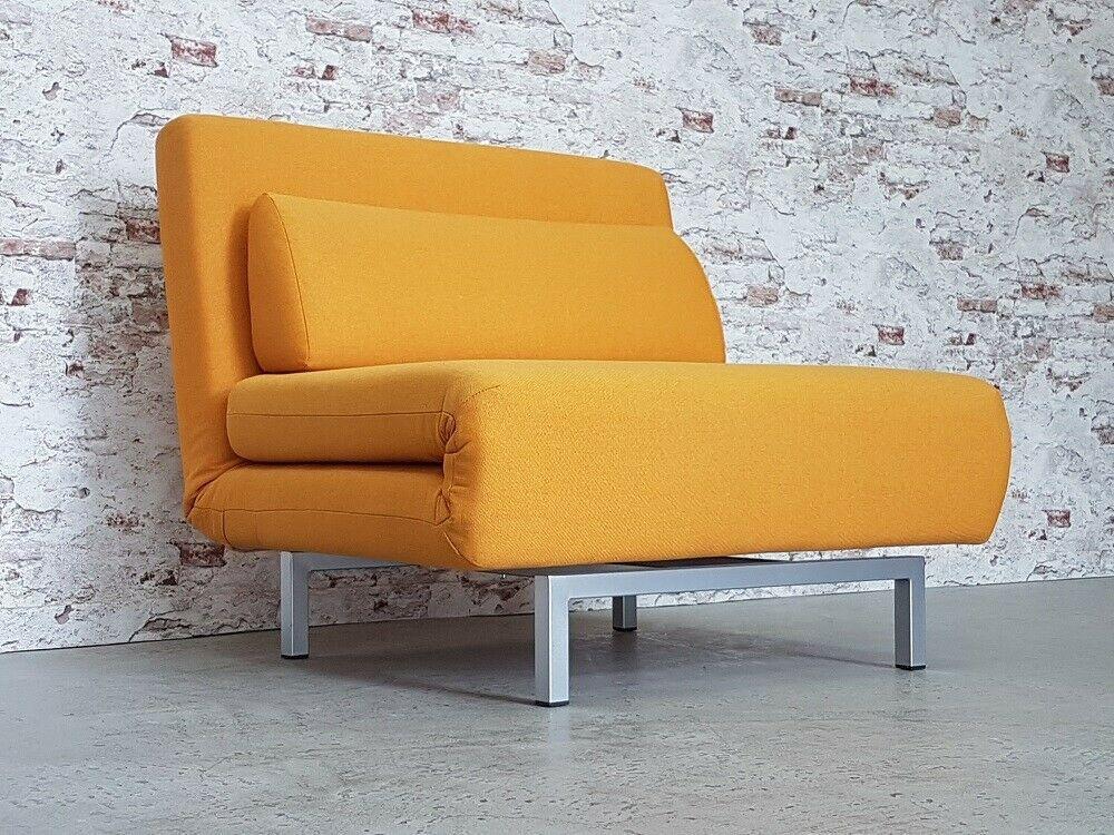 Moderner Schlafsessel Daybed Sessel Webstoff Liege Lounge Chair