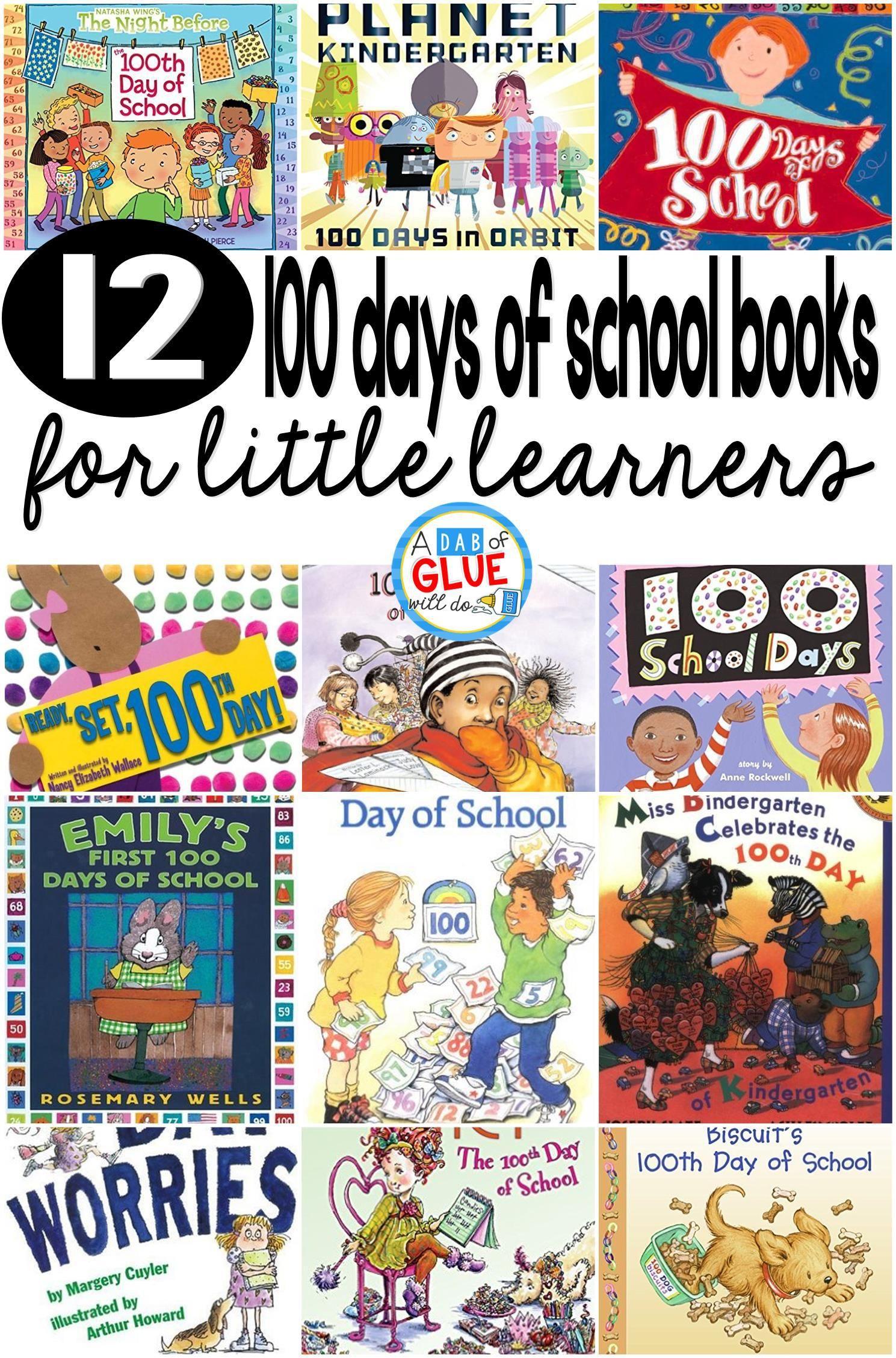 100 days of school books 100 days of school 100 day of