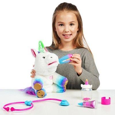 Little Live Rainglow Unicorn Vet Set Toys for girls