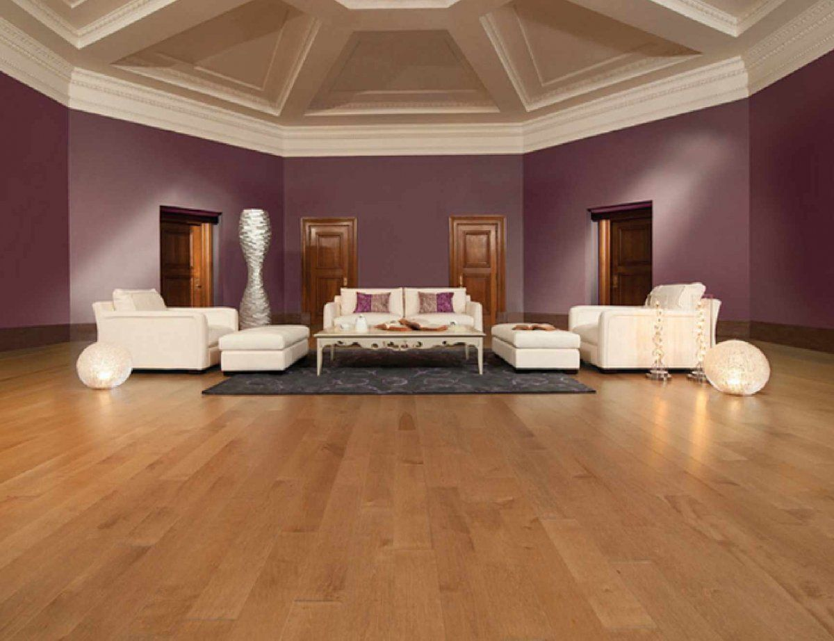 spacious luxury living room ideas with stately purple wall and