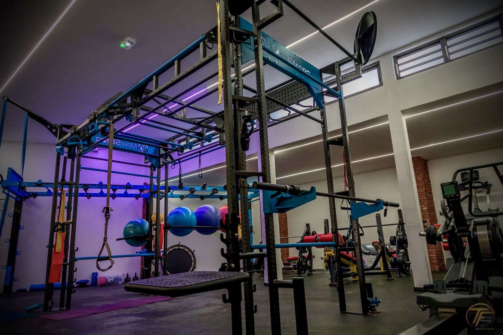 Island Gym Tahiti Fitness Creates Group Functional Training With Movestrong Movestrong Functional Training Island Gym Training Tools