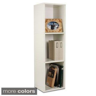 3-shelf Eco-friendly zBoard Bookshelf and Storage Shelf