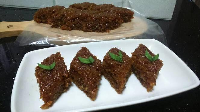 Resep Wajik Ketan Gula Merah Oleh Vitadeviana Resep Resep Masakan Gula Kue