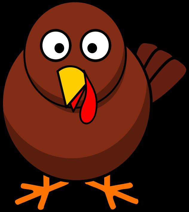 Rounded Turkey Turkey Clip Art Cartoon Clip Art Free Clip Art