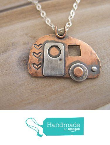Retro Camper Charm Necklace, Lets Go Camping Necklace, Vintage Travel Trailer, Camping Jewelry, Happy Camper Necklace, Glamping Jewelry from Radiant Jewel Studio https://www.amazon.com/dp/B01COT1DPA/ref=hnd_sw_r_pi_dp_i923wb775FNNY #handmadeatamazon
