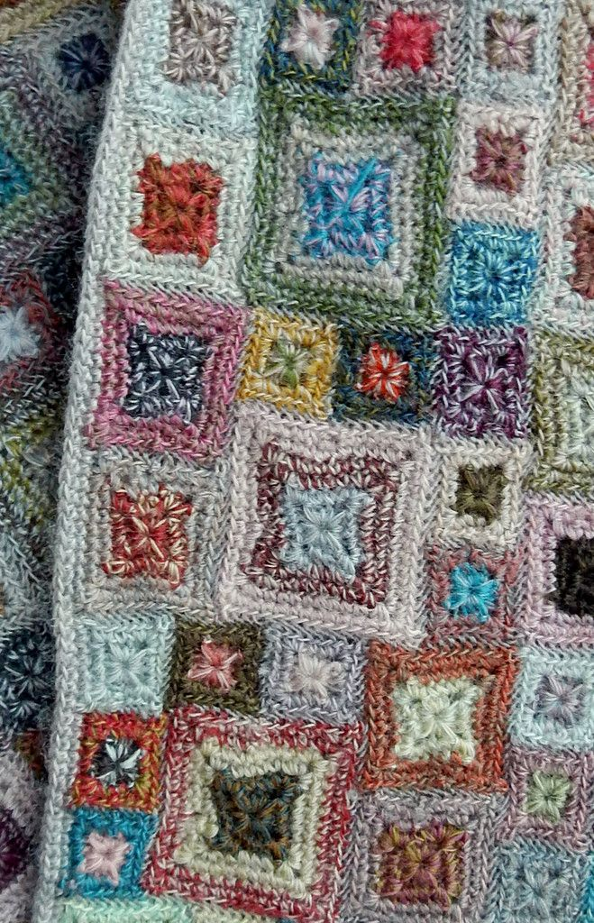 Sophie Digard crochet - Carre Micro scarf – Close Up | Crochet and ...