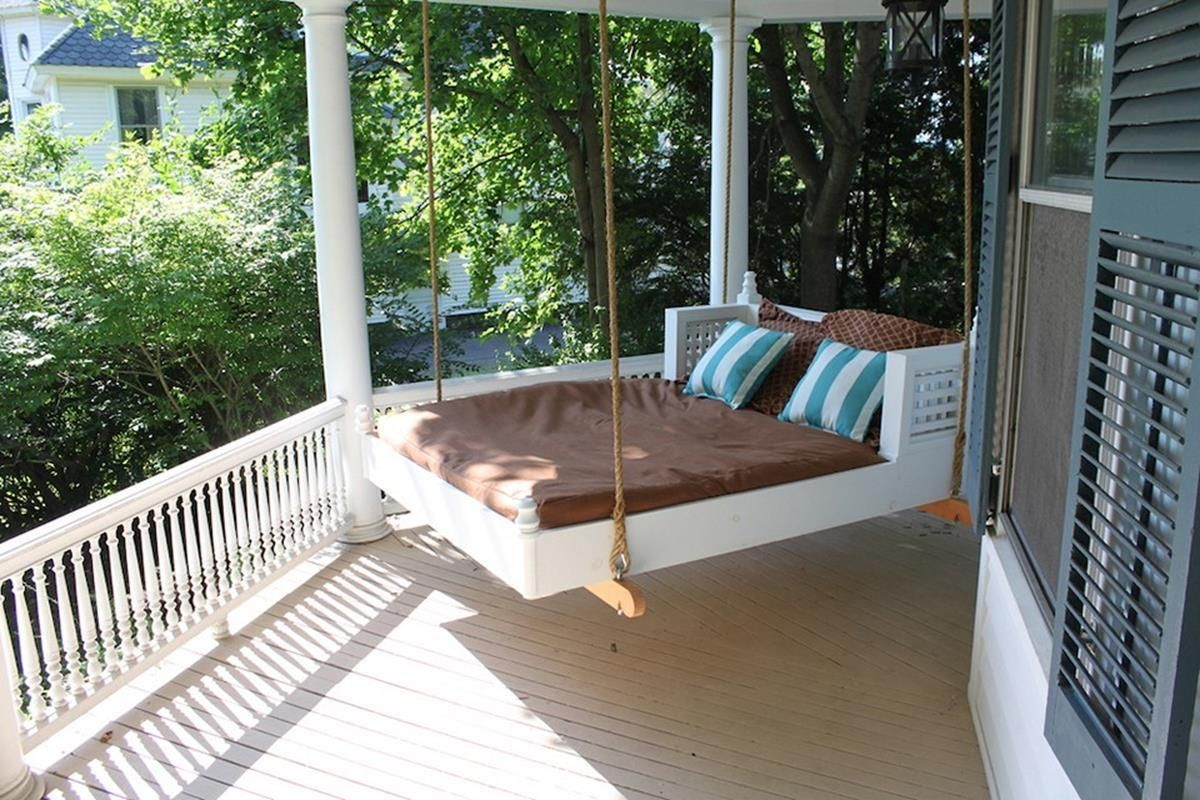 Diy Porch Swing Bed Plans Ideas On A Budget 52 Decorecent Outdoor Bed Swing Porch Swing Bed Porch Bed