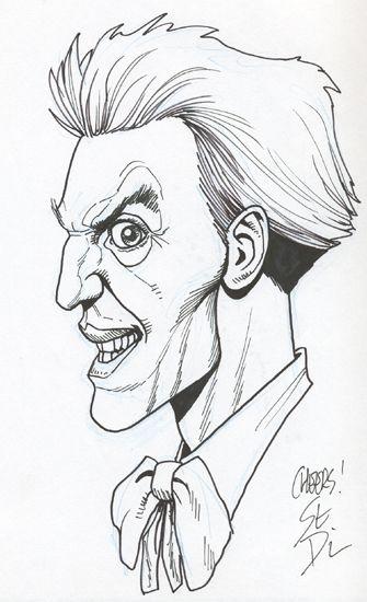 The Joker by Steve Dillon DC Comics Batman   Comic Book Art ...