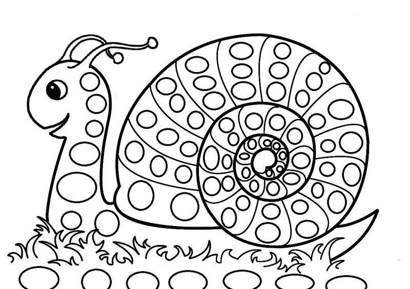 Coloriage Escargot à colorier - Dessin à imprimer ...