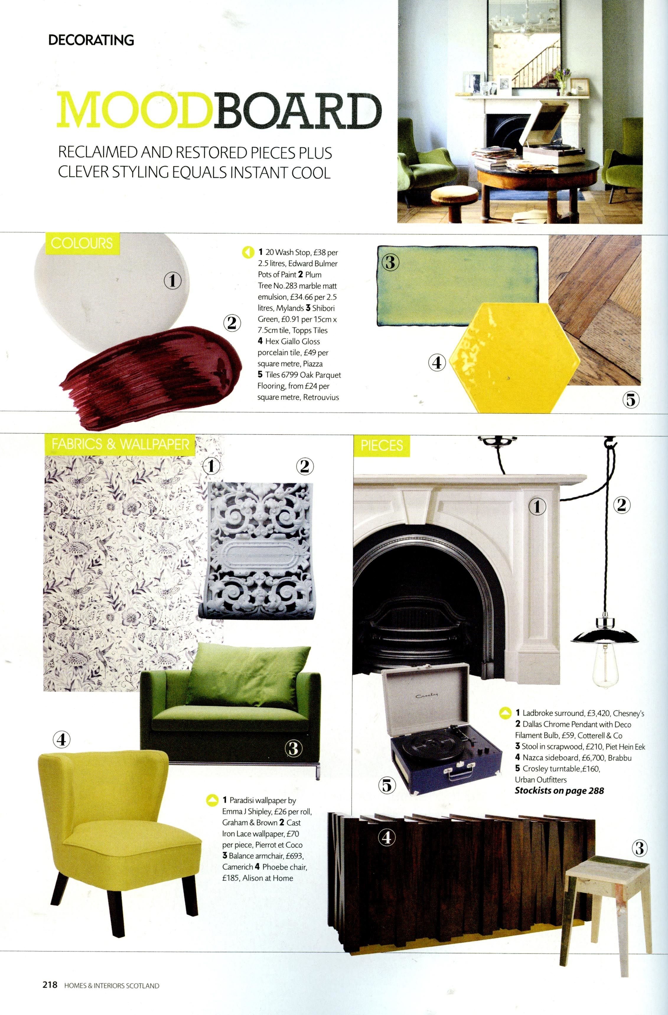 Homes and interiors scotland july to august potsofpaint also rh pinterest