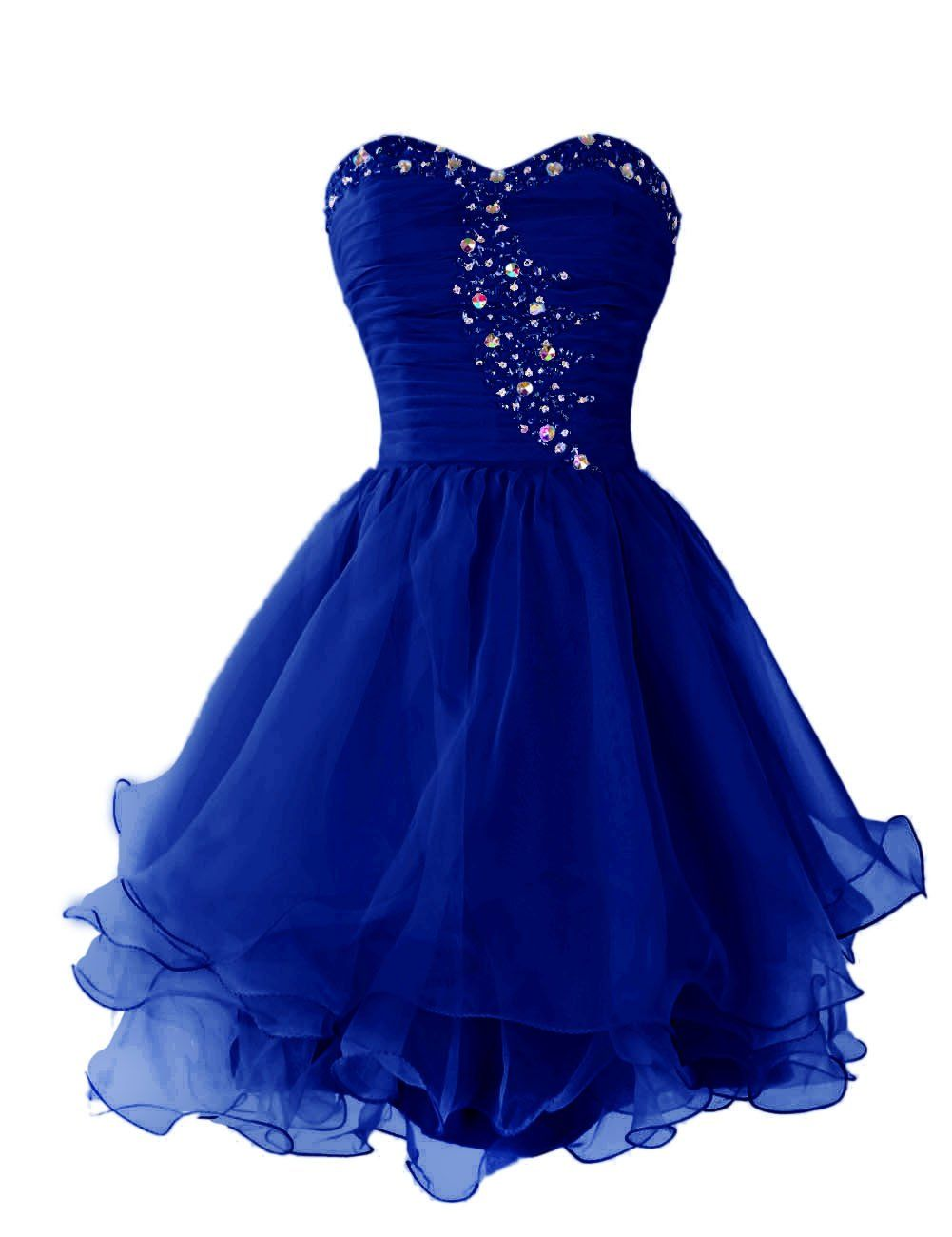 Dressystar short homecoming dresses sweetheart prom party gowns lace