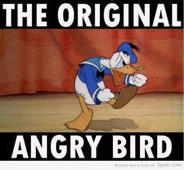 original angry bird