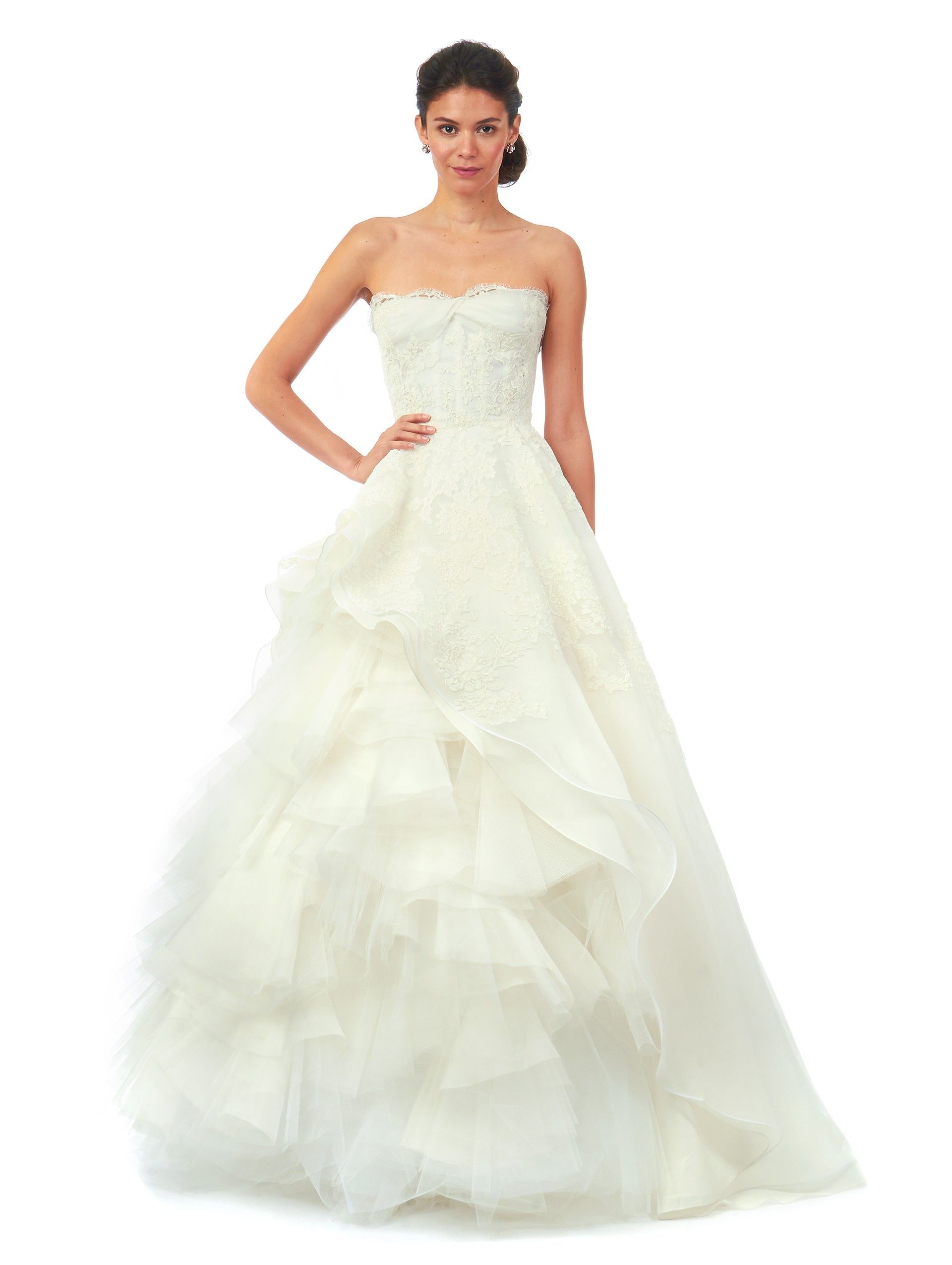 Oscar de la Renta Brynn 55N68 Discount Designer Wedding Dress ...