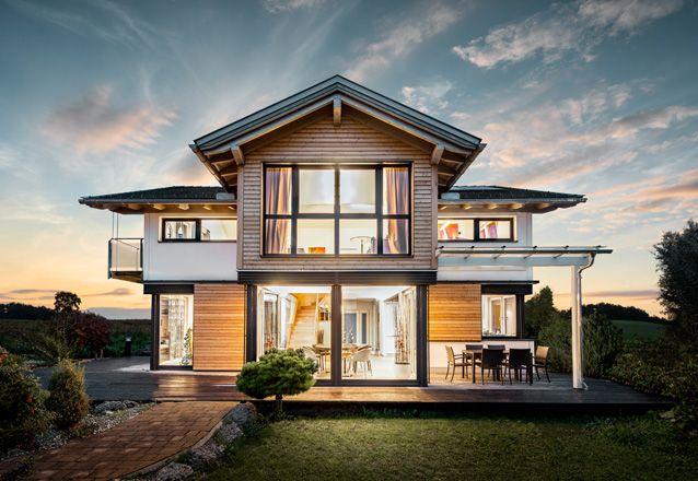 case prefabbricate in legno griffner progetti da provare pinterest case prefabbricate. Black Bedroom Furniture Sets. Home Design Ideas